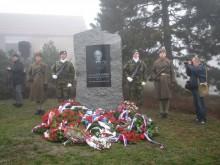 Uctění památky Ludvíka Svobody vHroznatíně
