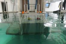 Kvýcviku tanků pod vodou využíváme speciální cvičiště. Více vreportáži České televize