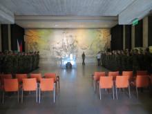 Základní důstojnický kurz: Návštěva muzea iukázka výcviku praporního úkolového uskupení
