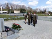 Pietní akt upříležitosti 76.výročí osvobození města Brna