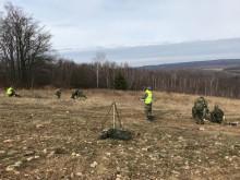 Vyškovský výcvikový prostor znovu rozduněla střelba zminometů!
