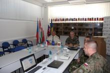 Velitel Velitelství výcviku – Vojenské akademie navštívil COE EOD vTrenčíně