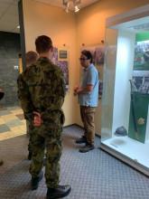 Vojenské cvičení právníků aktivní zálohy VeV-VA