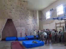 Ve Vyškově proběhl odborný seminář instruktorů vojenského lezení