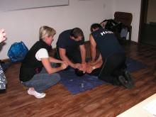 Doupovští hasiči se školili v záchraně života
