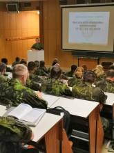 Zahájen další běh kurzu pro nižší důstojníky, tentokrát jeho kombinovaná forma
