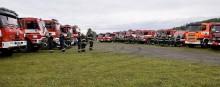 Vojenští hasiči z Hradiště se zapojili do Cvičení Forest Fires 2017