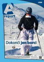 Nejnovější číslo A reportu přináší mimo jiné rozhovor sMO Karlou Šlechtovou