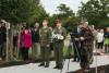 U slavnostního odhalení památníku skupině PLATINUM-POWER nechyběli ani vyškovští