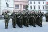 Při příležitosti 74.výročí osvobození Vyškova se na jeho náměstí uskutečnila vojenská přísaha