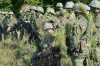 Noví studenti astudentky Univerzity obrany odpočítávají poslední dny do úspěšného absolvování kurzu základní přípravy