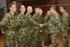 Nováčci aktivní zálohy absolvovali základní výcvik asložili vojenskou přísahu