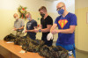 Další záložníci a dobrovolníci na výcviku ve Vyškově. I přes postupné rozvolňování probíhá za mimořádných opatření