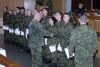 Vyškovští připravili dalších 531 nových vojenských profesionálů. Ti nyní míří kútvarům azařízením AČR