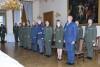 Absolventi Vyššího praporčického kurzu převzali certifikáty na Zámku Slavkov