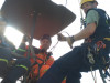 Lezecký kurz pro specialisty hasičských odborností sjubilejním stým absolventem