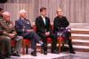 Ministr Lubomír Metnar udělil na Vítkově nejvyšší resortní vyznamenání. Oceněni byli idva příslušníci Velitelství výcviku-Vojenské akademie