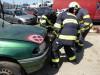 Z přípravy hasičských odborností: Vyprošťování osob i techniky