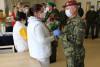 Vojáci splnili úkol, zostravského Alzheimercentra odjeli doposádky Vyškov