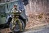 Dělotřelci v závěru přípravy do Mali. Přesedli tak z těžkých houfnic do lehkých vozů Iveco