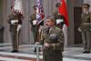 S novou hodností přebíráte zásadní díl odpovědnosti, řek generál Opata novým plukovníkům. Mezi nimi byli idva zástupci VeV-VA