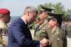 Ministr obrany anáčelník Generálního štábu na oslavu Dne ozbrojených sil předali resortní vyznamenání. Mezi vyznamenanými ipříslušníci VeV-VA